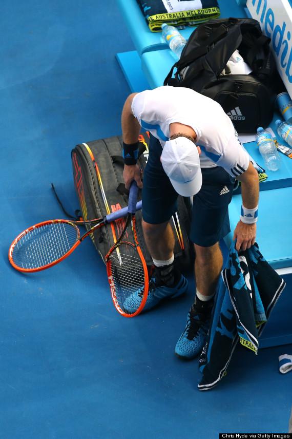 andy murray racquet