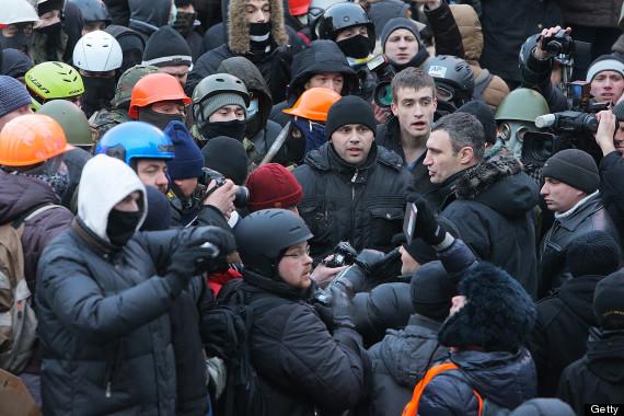 vitali klitschko kiev protests