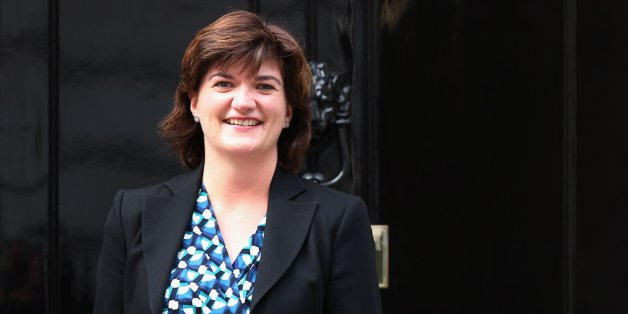 LONDON, ENGLAND - OCTOBER 07:  Nicky Morgan MP arrives at Number 10 Downing Street on October 7, 2013 in London, England. Ms Morgan has been appointed economic secretary to The Treasury after British Prime Minister David Cameron announced a government reshuffle today.  (Photo by Oli Scarff/Getty Images)