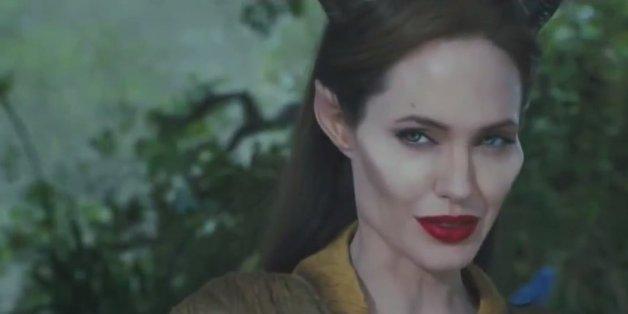 Maleficent Trailer Makes Angelina Jolie S Cheekbones Look
