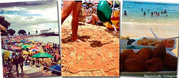 salvador praia curtir