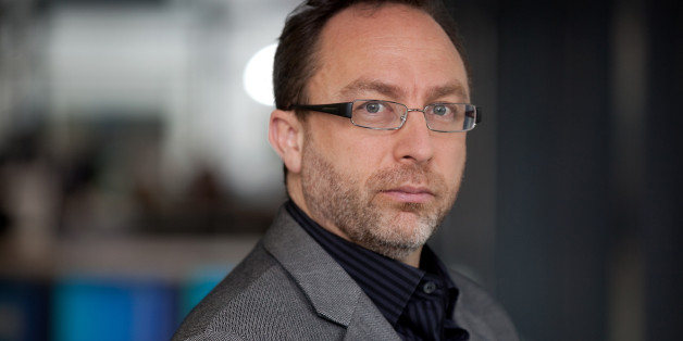 Jimmy Wales, co-founder of Wikipedia, poses for a photograph in London, U.K., on Monday, Nov. 7, 2011. To keep the online encyclopedia free and without advertising, Wikimedia Foundation Inc., the non-profit organization that operates Wikipedia, has held funderaisers since 2005. Photographer: Simon Dawson/Bloomberg via Getty Images