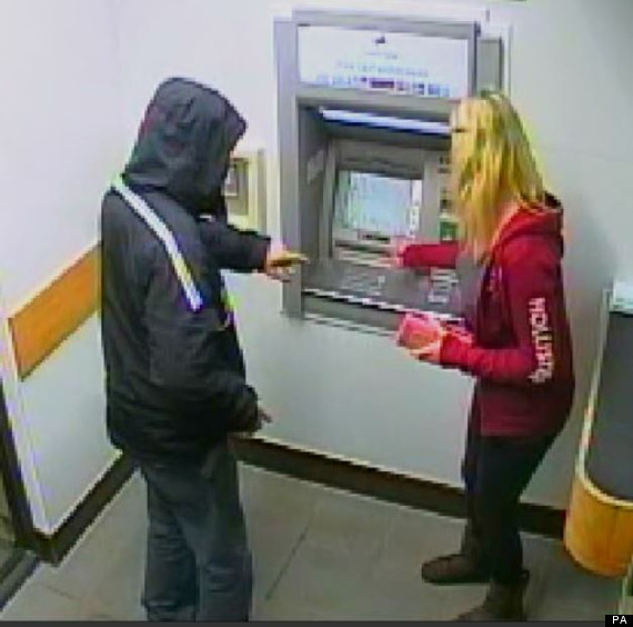 cashpoint robbery