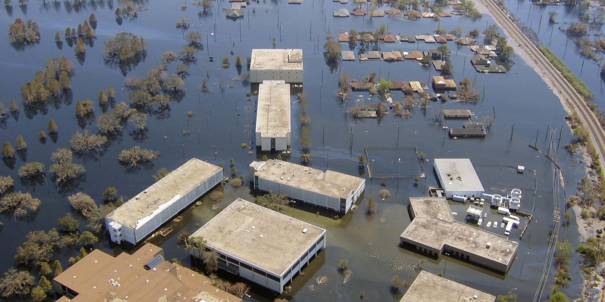 hurricane katrina damage - HD1462×923
