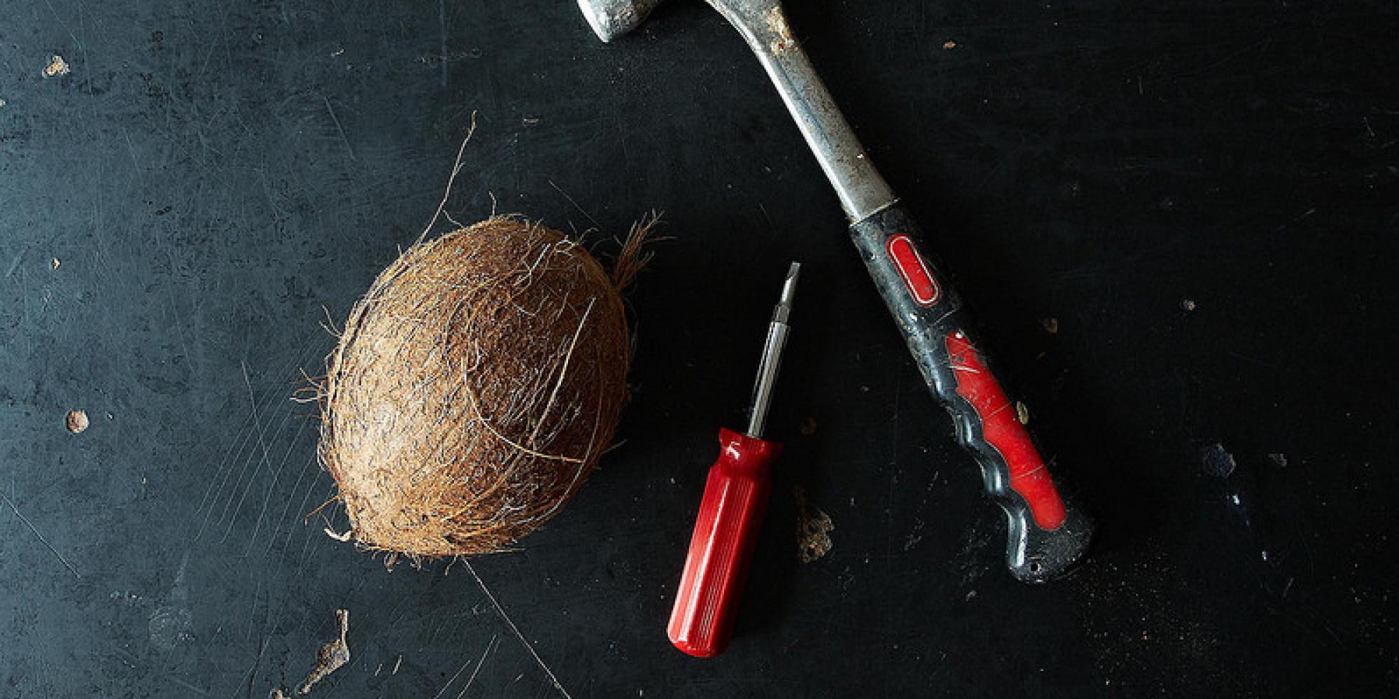 Как расколоть кокос в домашних условиях: инструкция 74