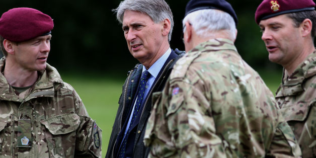 Philip Hammond troop cuts
