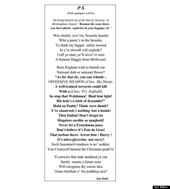 haggis poem