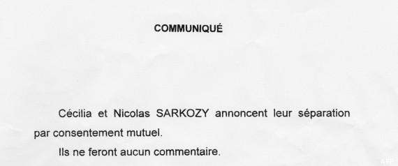 sarkozy separation