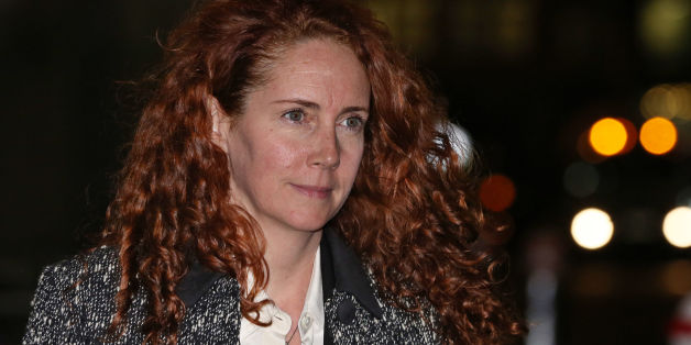 Rebekah Brooks leaves the Old Bailey in London, as the trial into phone hacking continues.