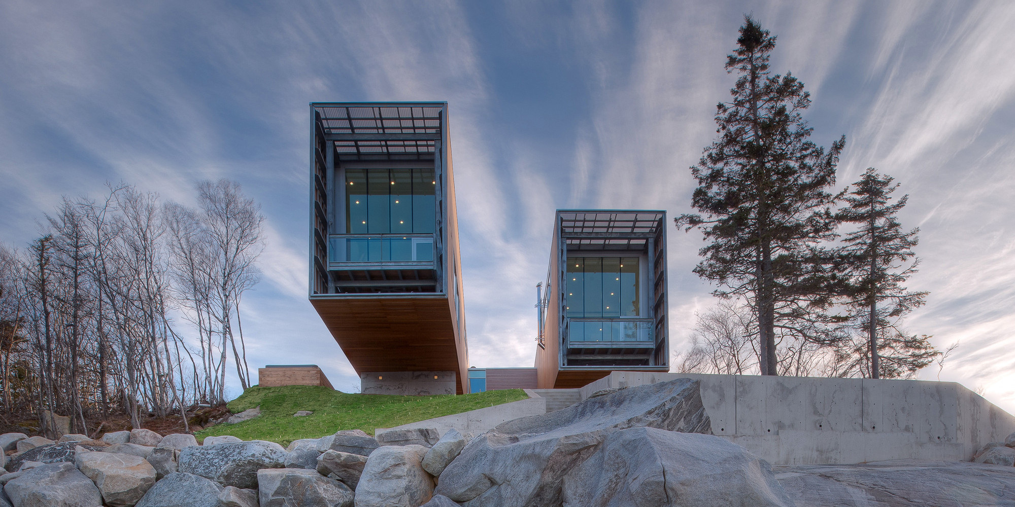 25 Contemporary Building Designs That Are Making A Splash In The ...