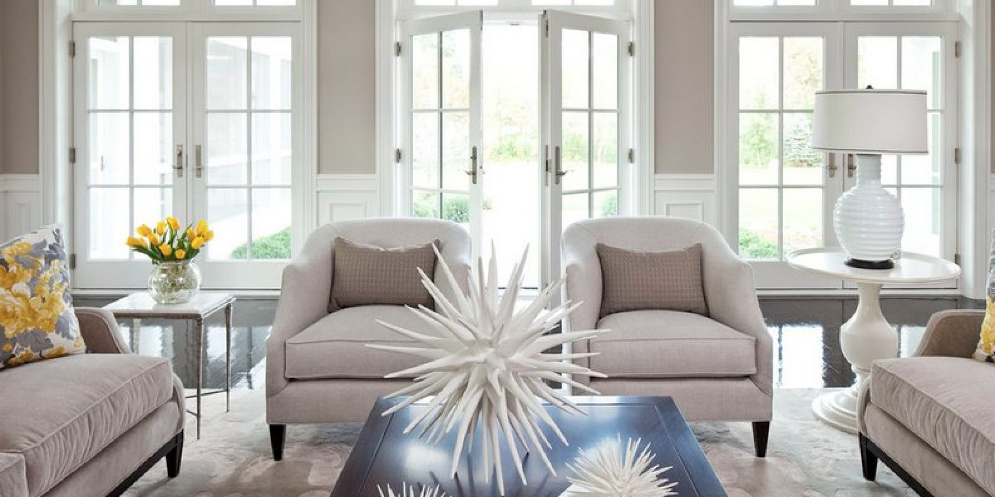 the 8 best neutral paint colors thatll work in any home no matter the style photos huffpost - Grey Interior Paint Schemes