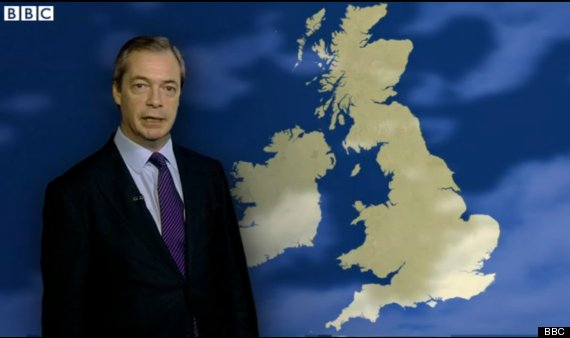 farage ukip weather