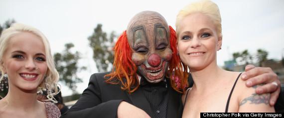 grammys clown