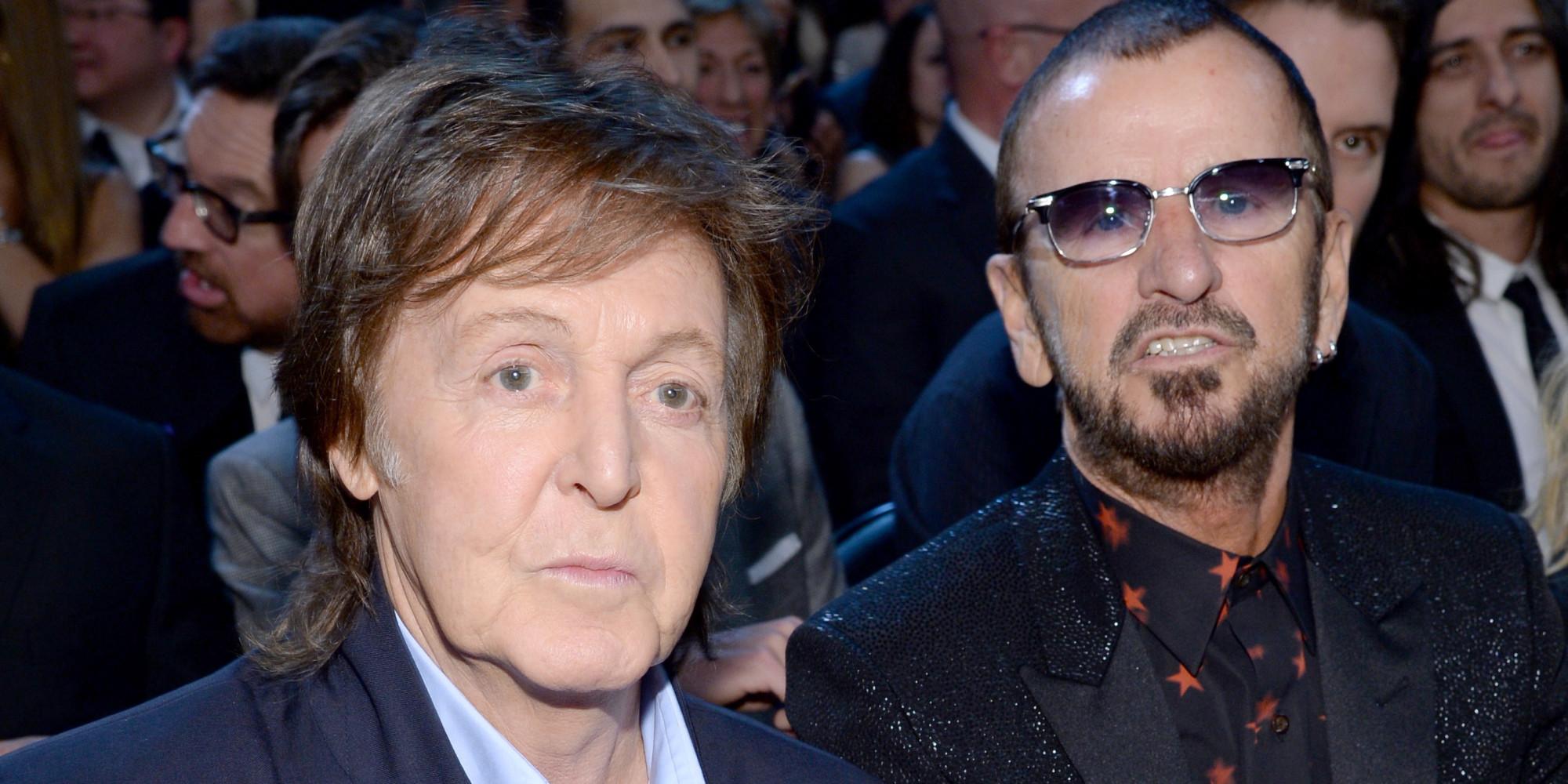 Paul McCartney Ringo Starr Grammys Performances Beatles Reunite