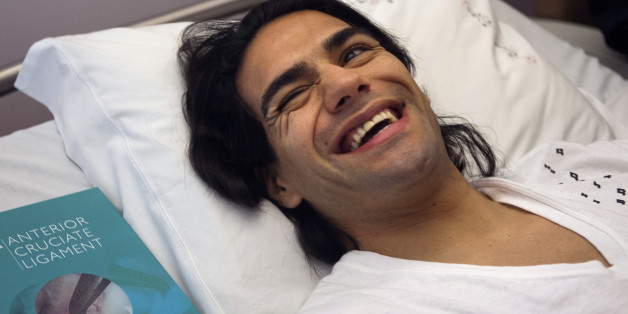 Falcao, smiling in hospital, could still make it to Brazil