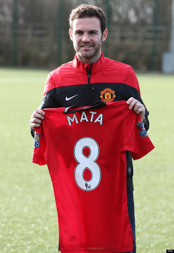 juan mata shirt number