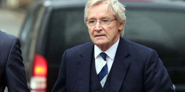 Coronation street actor William Roache, 81, of Wilmslow, Cheshire, arrives at Preston Crown Court, where he denies two counts of rape and five counts of indecent assault involving the five complainants aged 16 and under on dates between 1965 and 1971.