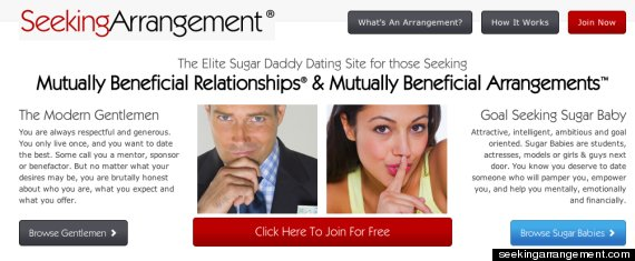 Seeking arrangements uk login