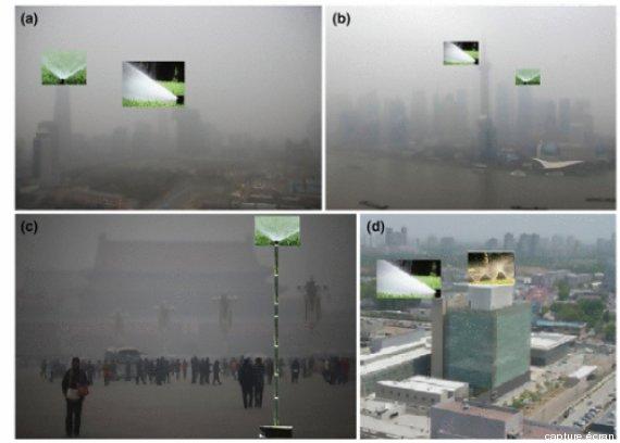 chine arrosage smog