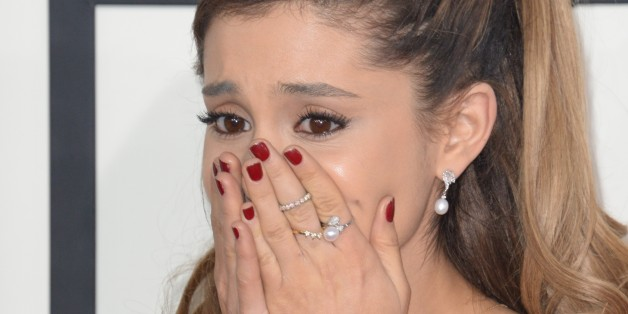 Ariana Grande Almost In Tears At The Grammys Because Of A Nasty Blogger
