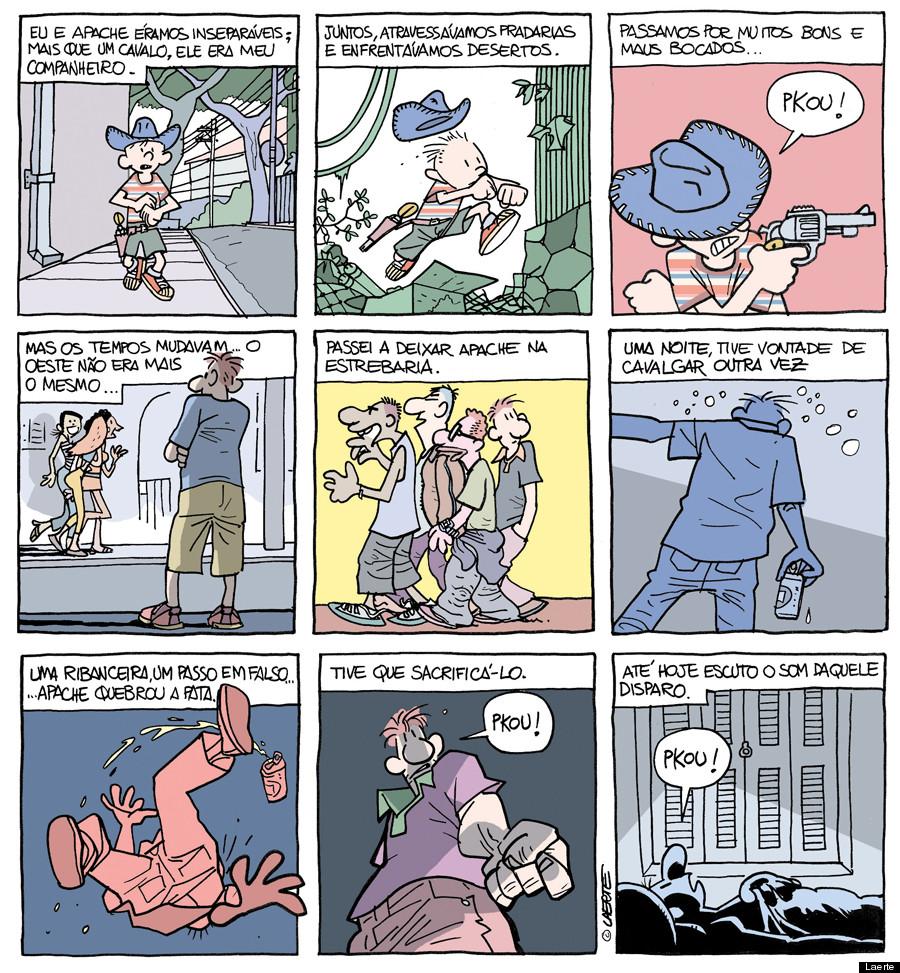 laerte tirinha pkou quadrinhos