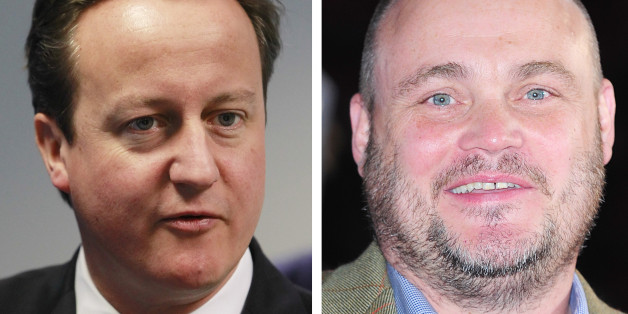 Al Murray and David Cameron