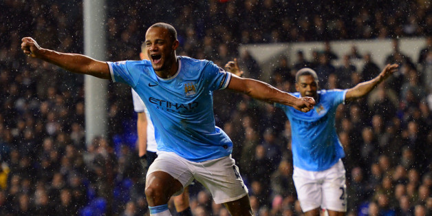 Kompany celebrates City's fifth