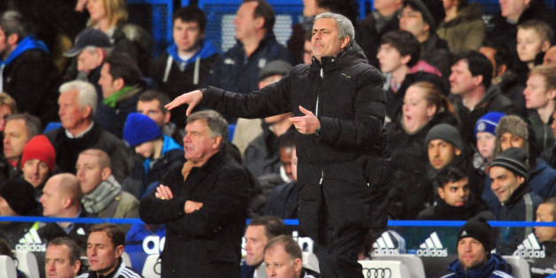 Mourinho was unimpressed with Allardyce's tactics