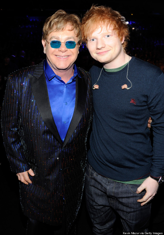 ed sheeran and elton john