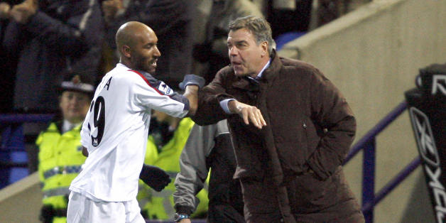 Anelka and Allardyce outgun the Gunners in 2006