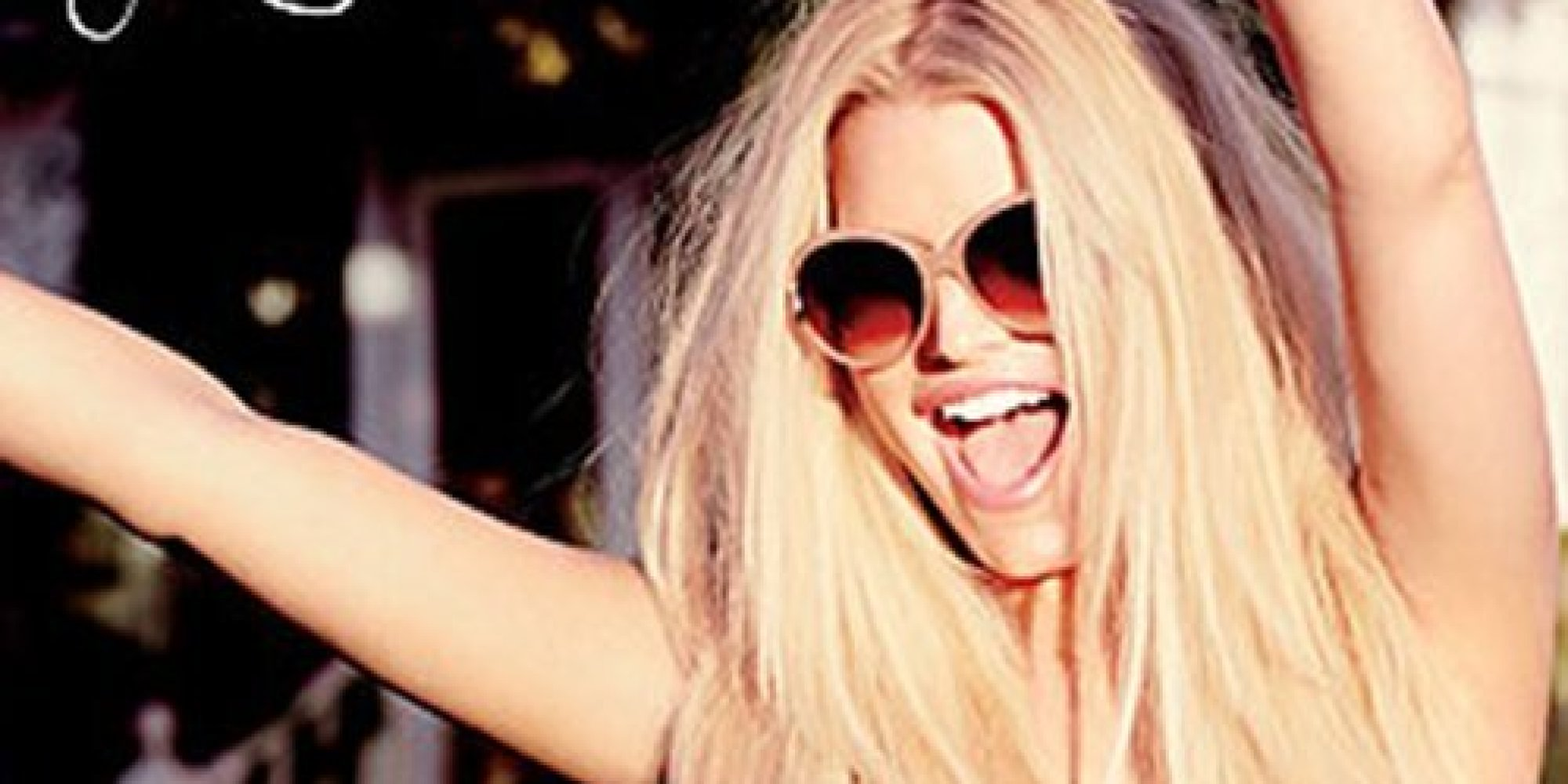 Jessica Simpson Models A Swimsuit From Her Spring 2014 Collection