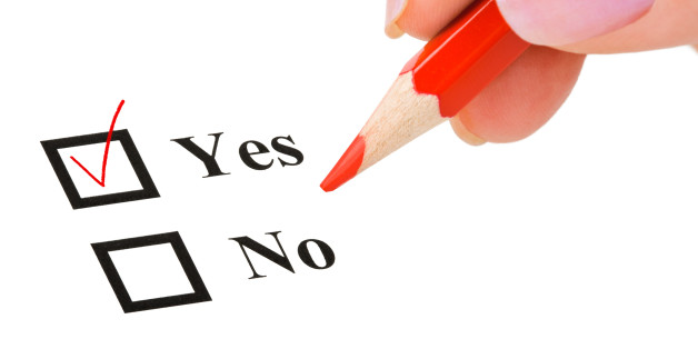 Man Insured yes check-box stock image. Image of question ... |Check Box Yes