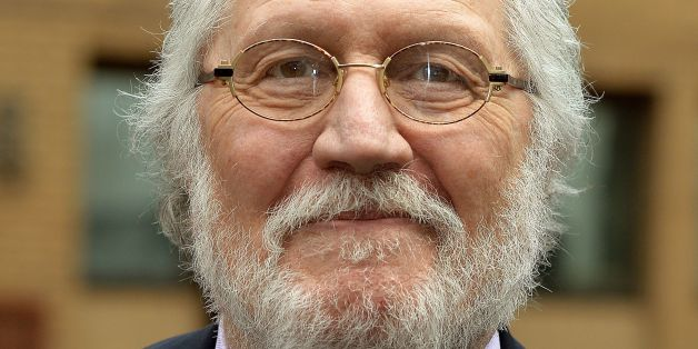 Former Radio 1 DJ Dave Lee Travis leaves Southwark Crown Court in south London, where he is charged with 13 counts of indecent assault dating back to between 1976 and 2003, and one count of sexual assault in 2008.