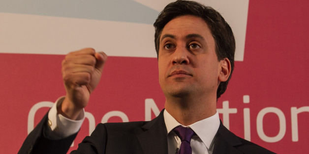Labour leader Ed Miliband delivers his speech on One Nation Politics at The St Bride Foundation in London.