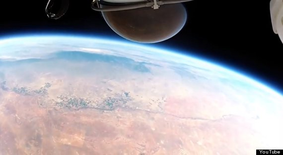 Felix Baumgartner's Space Jump GoPro Video Is Beautiful And Slightly Terrifying
