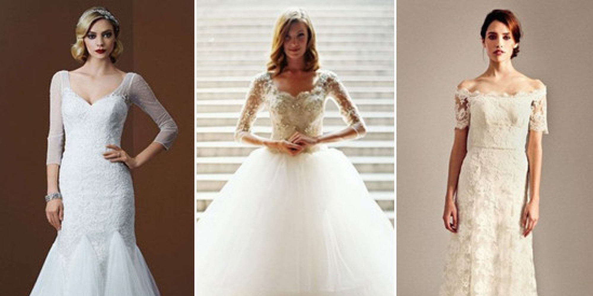 Wedding Dress For 40 Year Old Brides: 40 Winter Wedding Gowns So Gorgeous, You Won't Even Mind