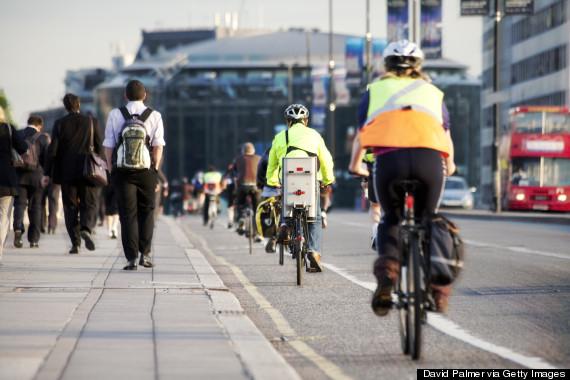 london cycle lane