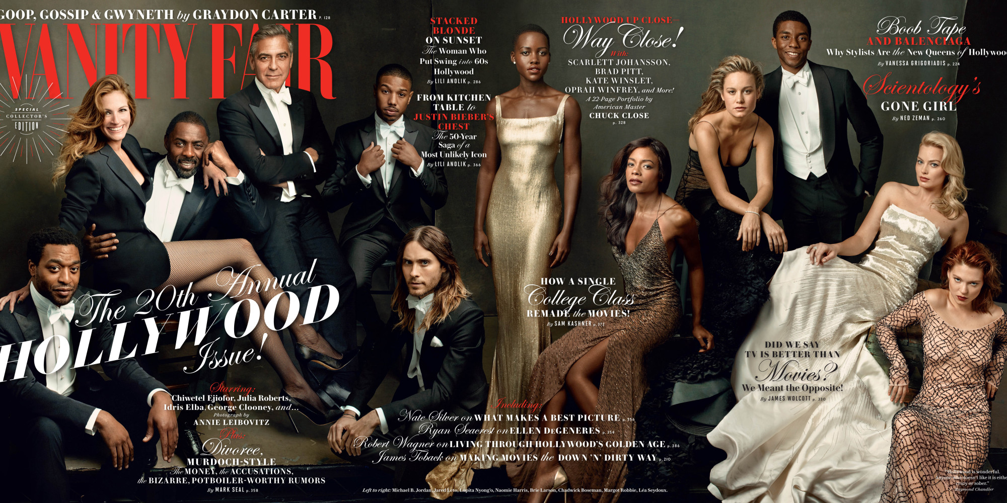 Vanity Fairs Hollywood Issue Features Lupita Nyongo Julia