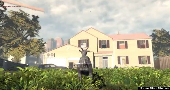 Goat Simulator By Coffee Stain Studios Is Brilliantly Entertaining