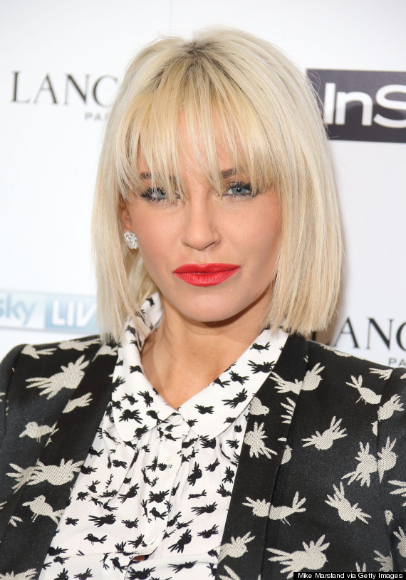 Sarah Harding Debuts New Bleached Bob Hairstyle Pictures