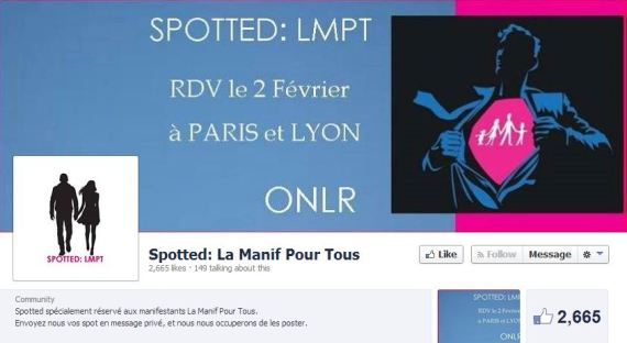 spotted manif pour tous facebook