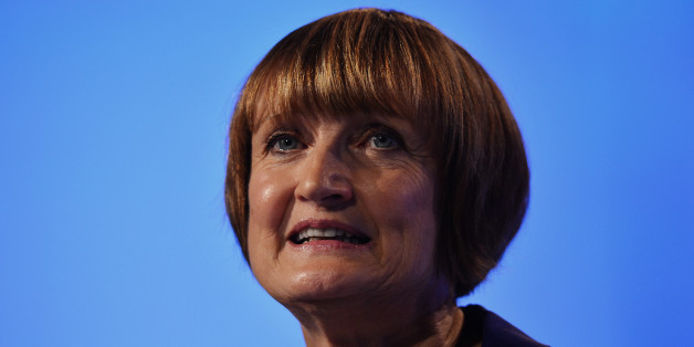Shadow Secretary of State for London and the Olympics Tessa Jowell gestures as she speaks during a retrospective look at the 2012 Olympics on the third day of the annual Labour Party Conference in Manchester, north-west England, on October 2, 2012.  Speaking at the opposition Labour party's conference former Conservative MP and London 2012 chairman Sebastian Coe called for cross-party unity to ensure longer term benefits gained from the success of the London 2012 Olympics. AFP PHOTO / PAUL ELLIS        (Photo credit should read PAUL ELLIS/AFP/GettyImages)