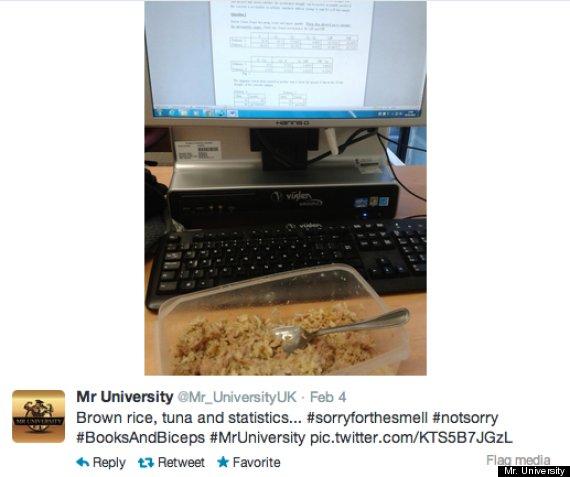 mr university twitter