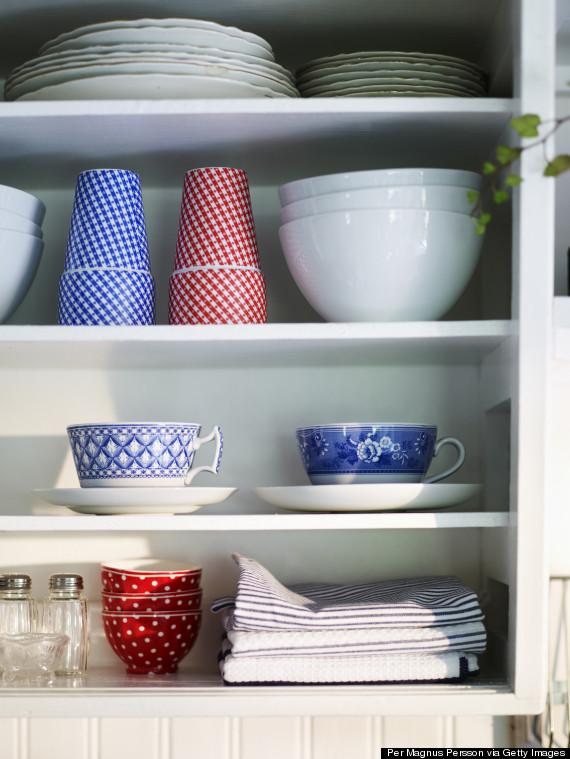 dish cupboard
