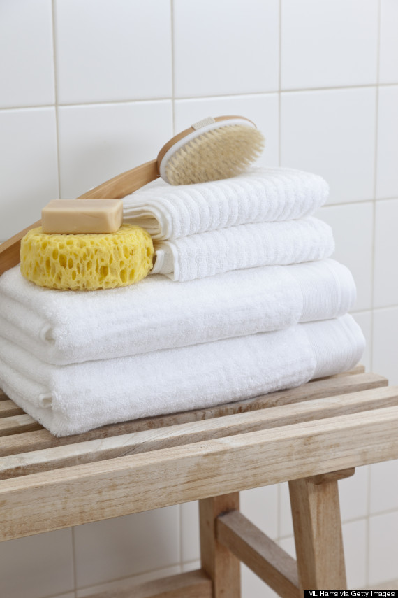 chic bathroom towels