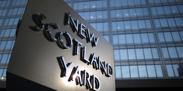 LONDON, ENGLAND - OCTOBER 24: Scotland Yard - headquarters of the Metropolitan Police on October 24, 2013 in London, England. Eight Romanian and three Polish officers are to work in London alongside Metropolitan police officers over a two-year period  in the fight against offenders from abroad.  (Photo by Peter Macdiarmid/Getty Images)