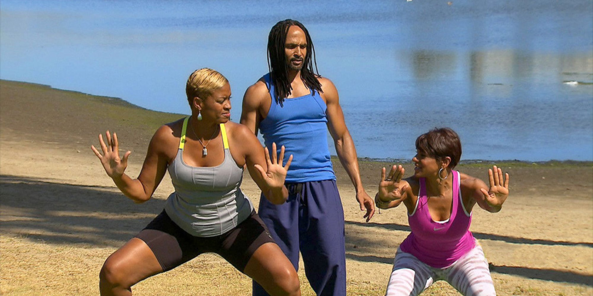 Pam Mcgee Works Out With A Fitness Expert She Dubs Black