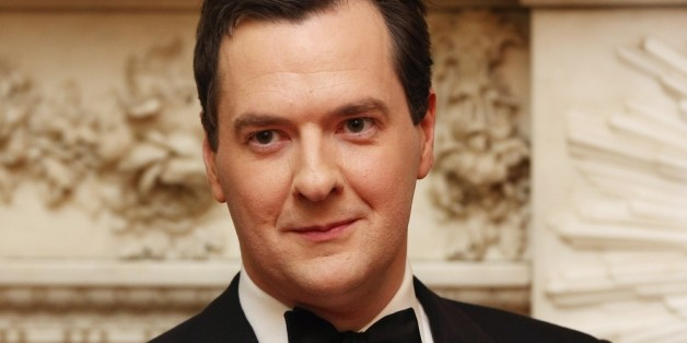 LONDON, ENGLAND - JUNE 19:  British Chancellor of the Exchequer, George Osborne, attends the 'Lord Mayor's Dinner to the Bankers and Merchants of the City of London' at the Mansion House on June 19, 2013 in London, England. Mervyn King will address the Mansion House audience for the 10th and final time as Governor of the Bank of England before he is replaced in the post by  former Bank of Canada Governor Mark Carney on July 1, 2013.  (Photo by Oli Scarff - Pool/Getty Images)
