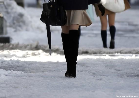 japão frio