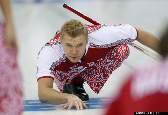 russia curling